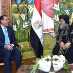 رئيس الوزراء المصري يهنئ البابا تواضرس بمناسبة عيد الميلاد