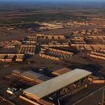 إصاباتان في هجوم صاروخي على قاعدة جوية شمال بغداد