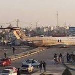 انحراف طائرة ركاب إيرانية عن ممر الهبوط دون إصابات