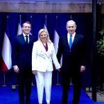 ماكرون يدعو إلى بناء الثقة بين إسرائيل وفلسطين