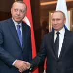 أردوغان يلتقي بوتين في سوتشي لبحث الصراع في سوريا