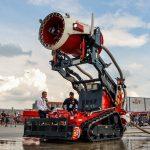 روبوت لإطفاء الحرائق في الإمارات