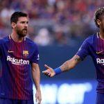 ميسي: نيمار لا يزال يريد العودة إلى برشلونة