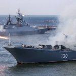 الأسطول الروسي يتدرب على ضرب أهداف بالبحر الأسود