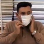 في لفتة إنسانية.. خياط عراقي يصنع كمامات كورونا يدويًا ويوزعها مجانًا