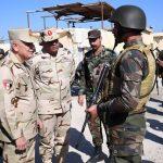 رئيس الأركان المصري يتفقد قوات تأمين شمال سيناء