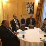 شكري يبحث مع وزيرة خارجية النرويج ملفي فلسطين وليبيا
