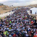 4000 متسابق من 77 دولة يشاركون في «نصف ماراثون الأهرامات»