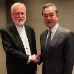 اجتماع نادر بين وزيري خارجية الصين والفاتيكان
