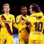 جريزمان يمنح برشلونة التعادل مع نابولي