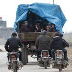 اللجنة الدولية للصليب الأحمر تدعو إلى السماح للمدنيين بالعبور الآمن في إدلب