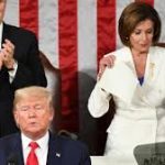 صيحات تأييد واستهجان في مجلس نواب منقسم أثناء إلقاء ترامب خطابه