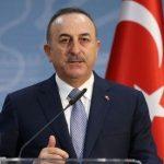 وزير الخارجية التركي يزور فرنسا