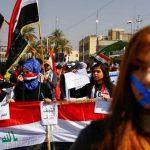 «العراق لا يهدأ».. عنف واحتجاجات متواصلة ضد رئيس الوزراء الجديد