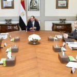 الرئيس المصري يوجه بسرعة إصلاح أضرار موجة السيول