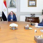الرئيس المصري يوجه بدعم الفئات الأكثر احتياجًا لمواجهة كورونا
