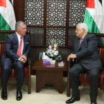 الرئيس عباس يهنئ العاهل الأردني بالمئوية الأولى لتأسيس الدولة الأردينة