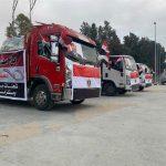 قافلة مساعدات طبية وإنسانية مصرية تصل غزة