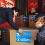 الصين تقدم للجزائر أجهزة ومستلزمات طبية لمواجهة كورونا