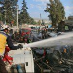 المرصد السوري: 46 قتيلاً على الأقلّ ضحايا انفجار صهريج في عفرين