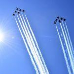 طائرات حربية في سماء نيويورك لتحية العاملين في مجال الصحة
