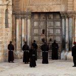 إغلاق كنيسة القيامة في القدس كإجراء وقائي لمواجهة كورونا