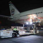 طائرة مساعدات إماراتية إلى جنوب أفريقيا لدعم جهود مكافحة كورونا