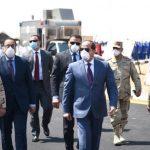 الرئيس المصري يفتتح مشروع «بشائر الخير 3» ضمن تطوير العشوائيات