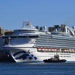 سفينة منكوبة بكورونا ترسو في أستراليا