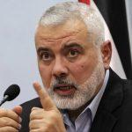 هنية يوجه كلمة حول المصالحة الفلسطينية اليوم