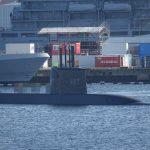 القوات البحرية المصرية تتسلم غواصة جديدة من ألمانيا