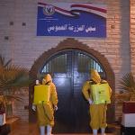 صور  تعقيم السجون المصرية لحماية النزلاء من الأوبئة