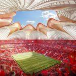 الصين تبدأ بناء أكبر استاد كرة القدم في العالم
