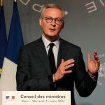 وزير المالية: فرنسا تشهد هذا العام أسوأ تراجع اقتصادي منذ الحرب العالمية