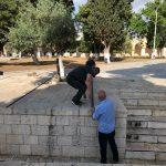 الاحتلال يستعد لأعمال استيطانية في المسجد الأقصى