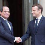 السيسي يبحث مع ماكرون تطورات الأزمة الليبية