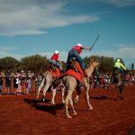 رغم كورونا.. إقامة مهرجان لسباقات الهجن في شمال أستراليا