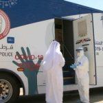 وحدة متنقلة لفحص كورونا المستجد في أبو ظبي