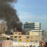 إصابة 11 إطفائي بعد انفجار ضخم في لوس أنجلوس