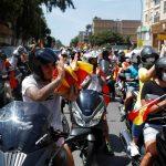 احتجاجات لليمين المتطرف في إسبانيا على إجراءات العزل العام