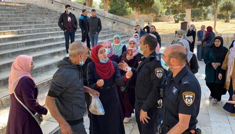اعتقالات في المسجد الاقصى