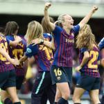 سيدات برشلونة يفوزون بلقب دوري الأضواء الإسباني