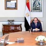 الرئيس المصري يوجه بالتحديث المستمر لبروتوكولات علاج كورونا