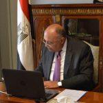 سامح شكري يتلقى اتصالاً هاتفياً من مفوض الاتحاد الأوروبي لسياسة الجوار