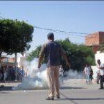 الأمن التونسي يطلق الغاز لتفريق محتجين في جنوب البلاد