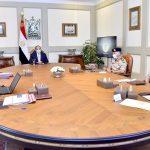 السيسي يطلع على جهود الهيئة الهندسية في المشروعات القومية