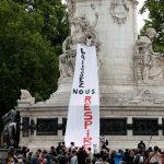 تجدد المظاهرات في باريس ضد العنصرية