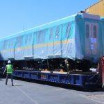 مصر تعلن وصول أول قطار مترو أنفاق ضمن صفقة توريد بالخط الثالث