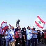جرحى في تجدد المظاهرات اللبنانية ضد الفساد