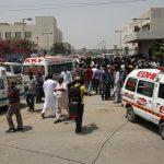انتهاء الهجوم على بورصة كراتشي وسقوط ستة قتلى